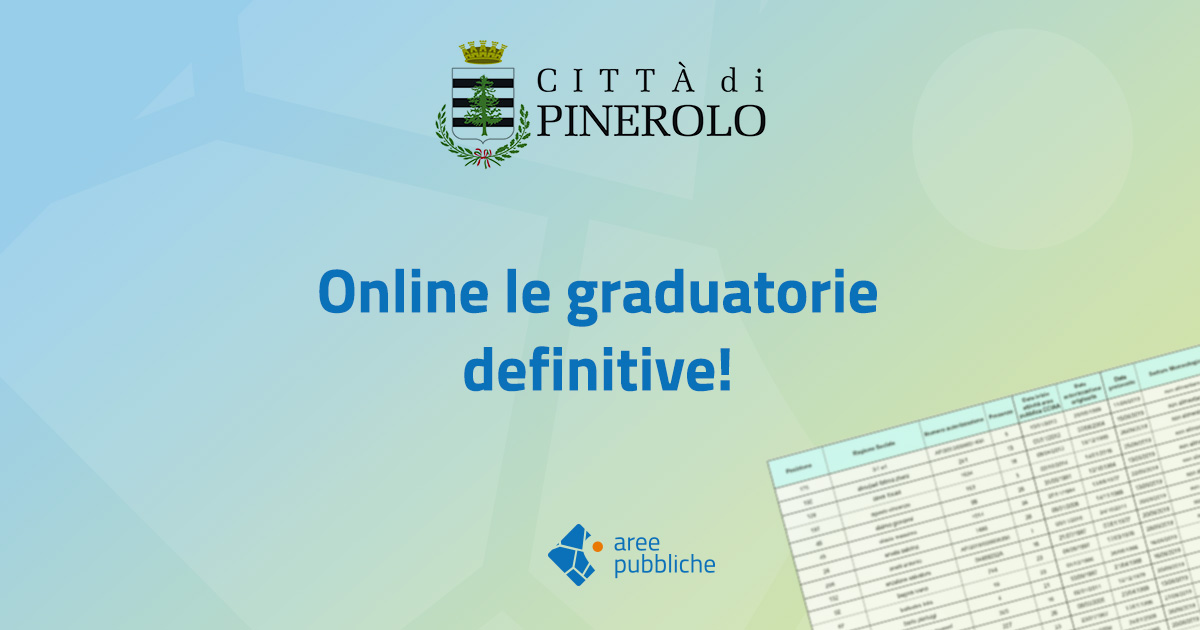 Fiera di Pinerolo: graduatorie definitive